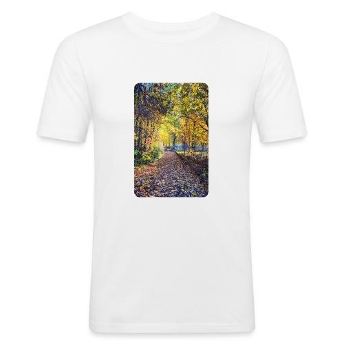 Autumn - Obcisła koszulka męska
