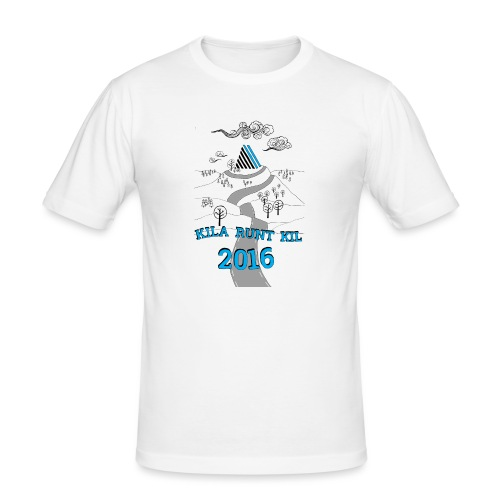 Kila runt Kil 2016 - Barn - Slim Fit T-shirt herr