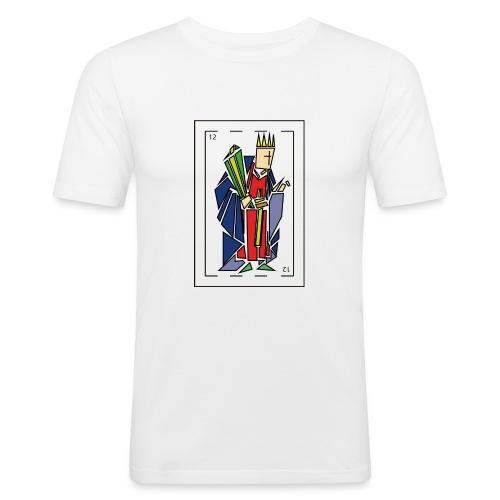 rey_de_bastos - Camiseta ajustada hombre