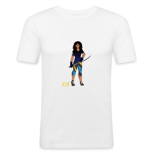 Sabre fencer - Men's Slim Fit T-Shirt