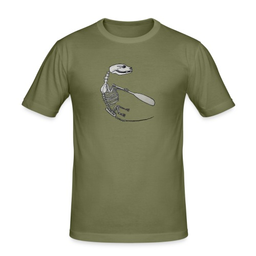 Skeleton Quentin - Men's Slim Fit T-Shirt