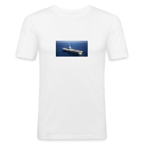 porte avion Charles de Gaulle - T-shirt près du corps Homme