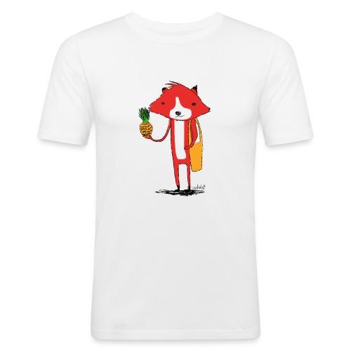 Ananasfüchslein - Männer Slim Fit T-Shirt