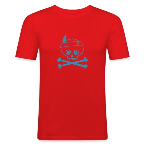skullo - Männer Slim Fit T-Shirt