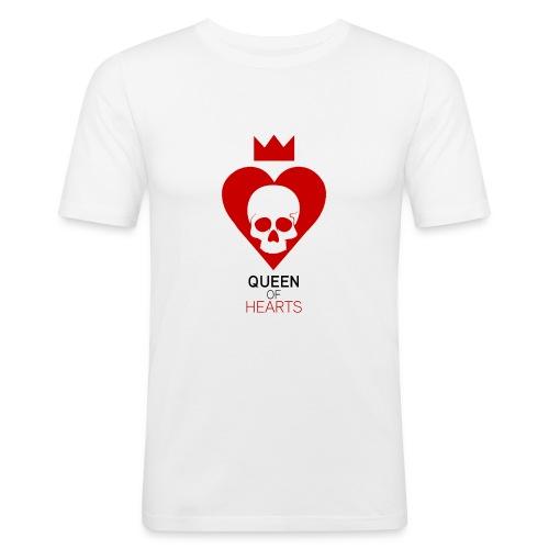 Tee shirt manches longues Reine des Coeurs - T-shirt près du corps Homme