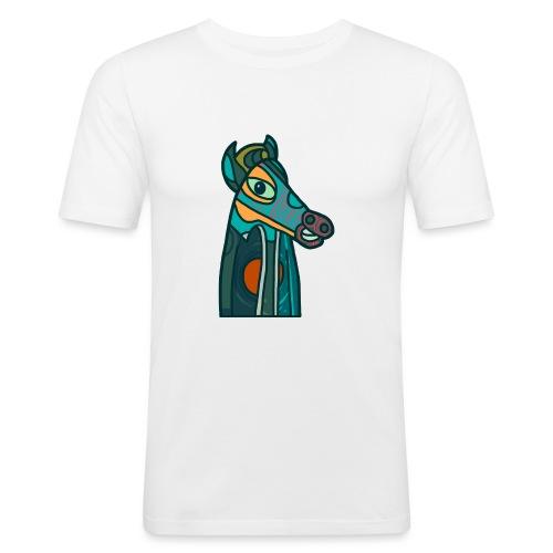 Horse - Slim Fit T-shirt herr