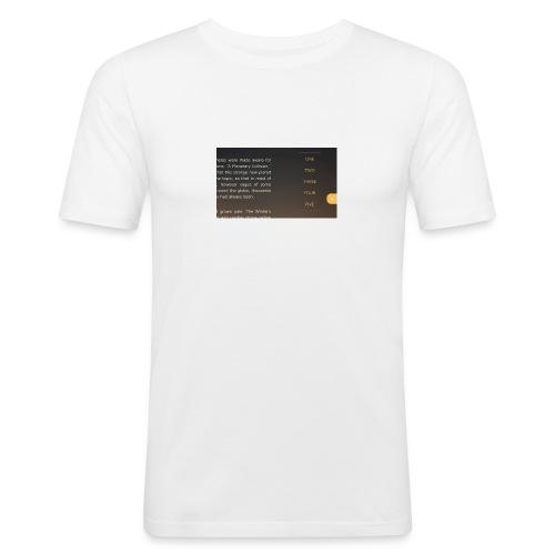 smart-jpg - Mannen slim fit T-shirt