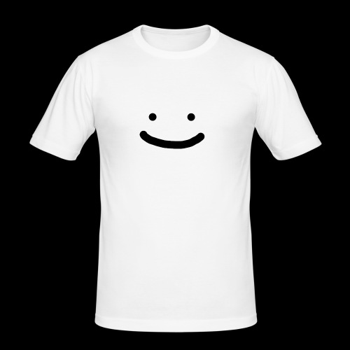 Smile - Obcisła koszulka męska