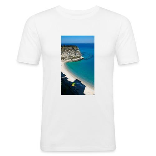 Tropea isola - Maglietta aderente da uomo