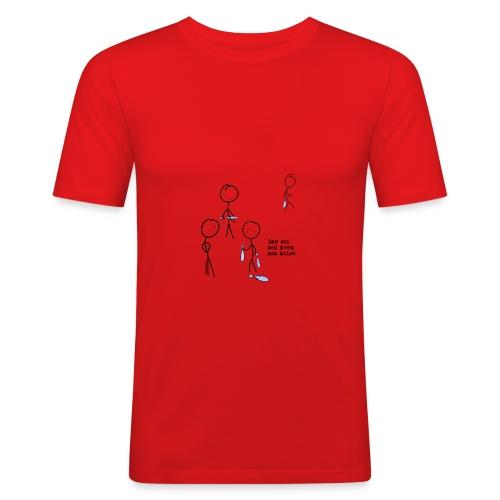 har sei png - Slim Fit T-skjorte for menn