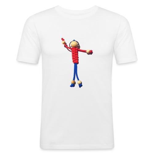 Knotenmann - Männer Slim Fit T-Shirt