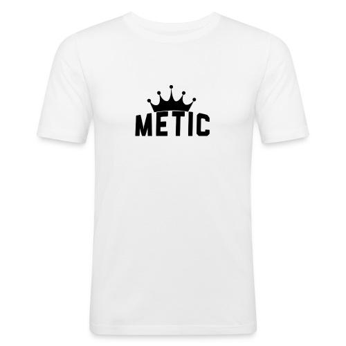 T Shirt design Black Bigger - slim fit T-shirt