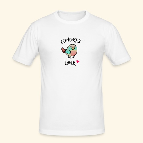 Conures' Lover: Toc - T-shirt près du corps Homme