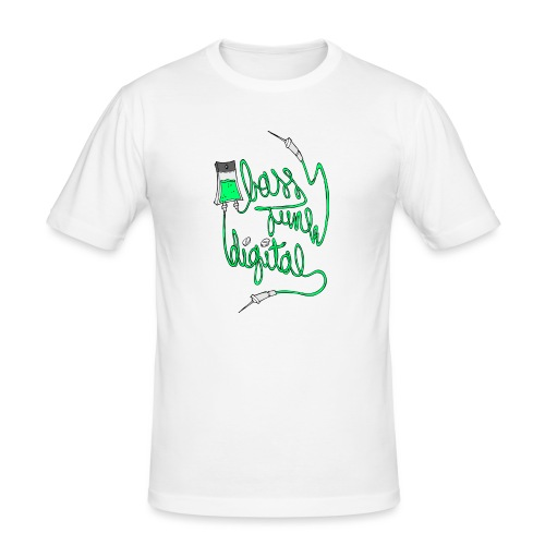 BASS JUNK DIGITAL ZIPPED HOODIE - slim fit T-shirt