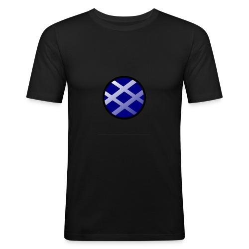 Logo církel - Men's Slim Fit T-Shirt