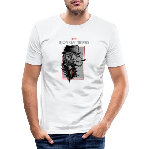 Monkey Mafia - Männer Slim Fit T-Shirt
