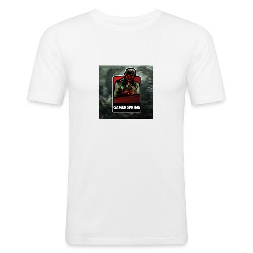 GamersPrime Logo - Slim Fit T-skjorte for menn