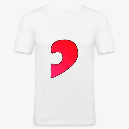 Herz Puzzle Partnerlook B - Männer Slim Fit T-Shirt