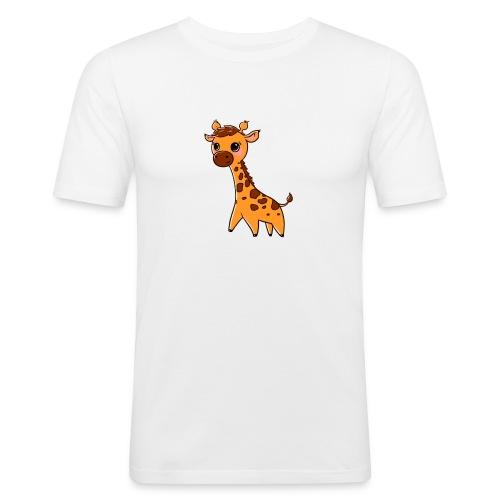 Mini Giraffe - Men's Slim Fit T-Shirt