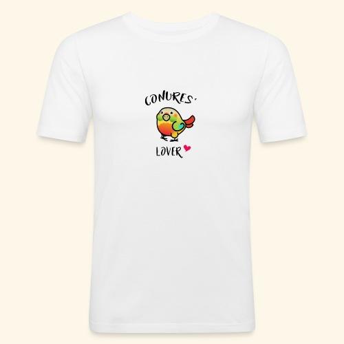 Conures' Lover: Ananas - T-shirt près du corps Homme