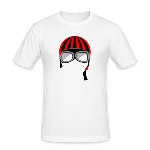 red_helmet-png - Maglietta aderente da uomo
