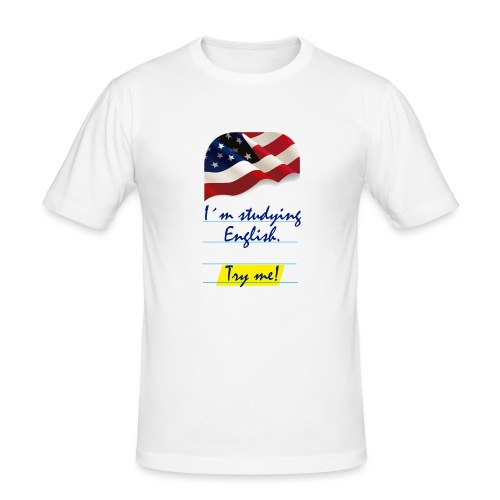 Base Try me 0 04 - Camiseta ajustada hombre
