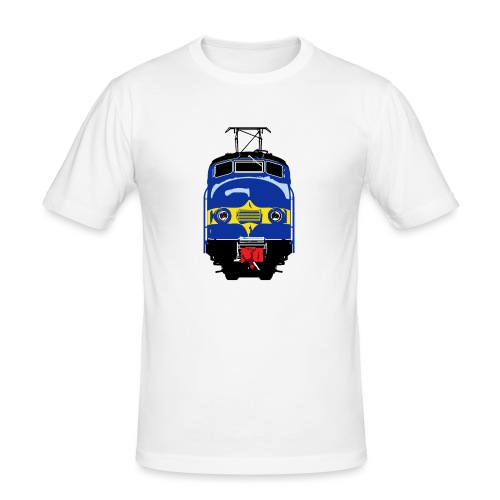 Hondekop Benelux 3 kleuren - Mannen slim fit T-shirt