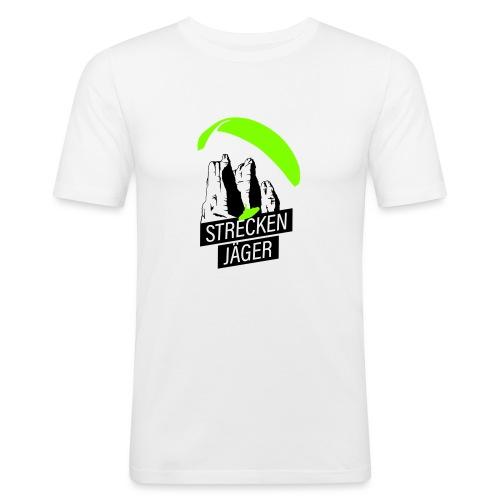 Streckenjäger Gleitschirm XC Paragliding - Männer Slim Fit T-Shirt