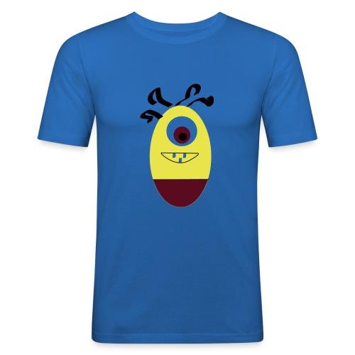 Gult æg - Herre Slim Fit T-Shirt