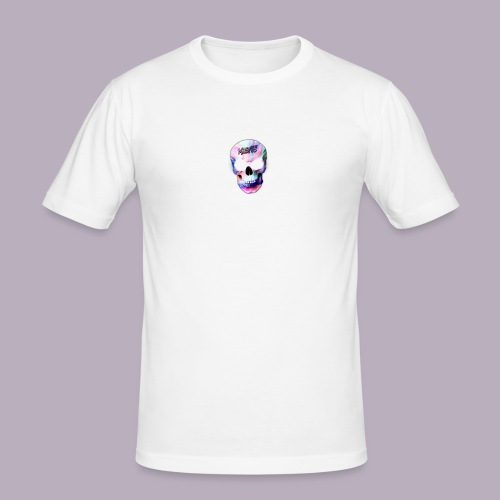 mxsfits skull logo - Men's Slim Fit T-Shirt