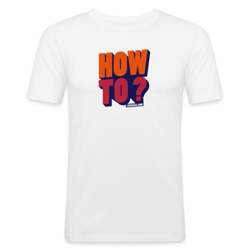 HOW TO BLB - T-shirt près du corps Homme