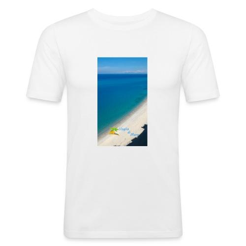 Tropea mare - Maglietta aderente da uomo