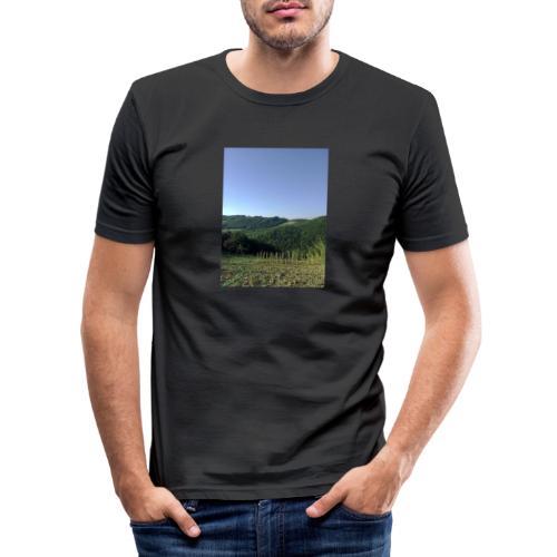 Panorama - Maglietta aderente da uomo
