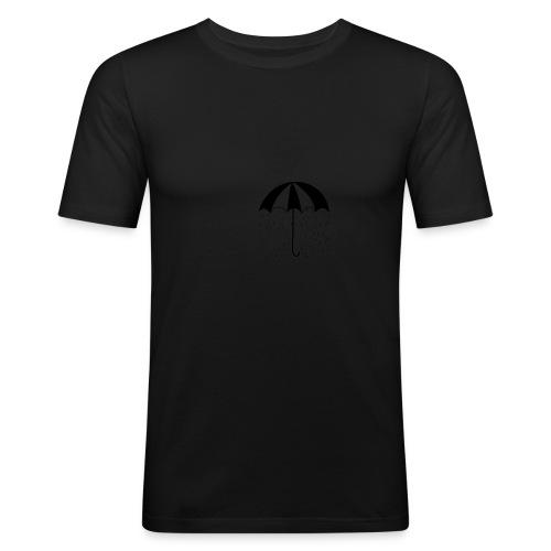 Umbrella - Maglietta aderente da uomo