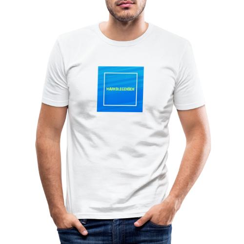Markolegenden TikTok - Herre Slim Fit T-Shirt