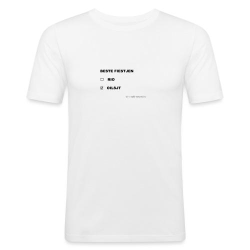 rio_oilsjt-png - Mannen slim fit T-shirt