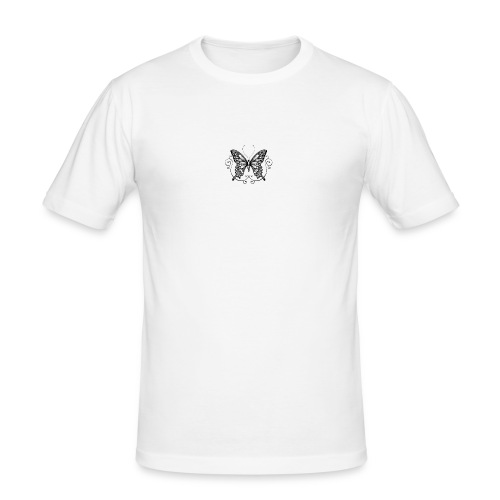 vlinder - Mannen slim fit T-shirt