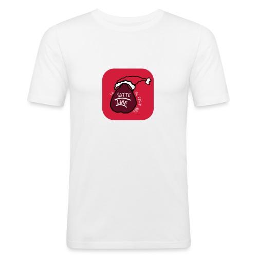 T SHIRT La Hotte Line Du Père Noël - T-shirt près du corps Homme