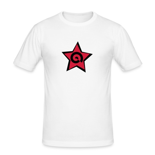 stella con spirale - Maglietta aderente da uomo