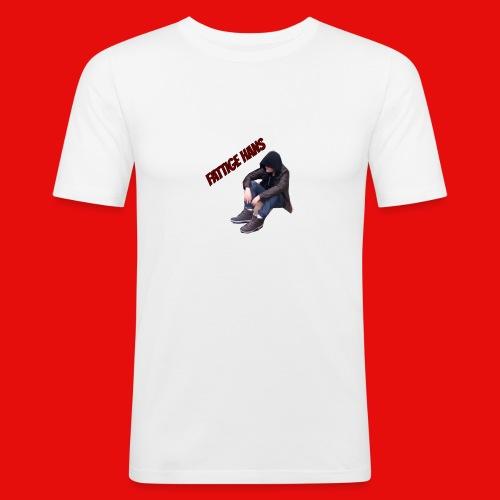 Fattige Hans - Slim Fit T-skjorte for menn