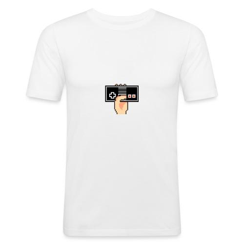 Dette er Logen/Ikonet vårt til Kanalen - Slim Fit T-skjorte for menn