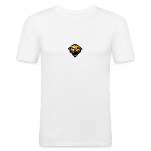 logo trans - Mannen slim fit T-shirt
