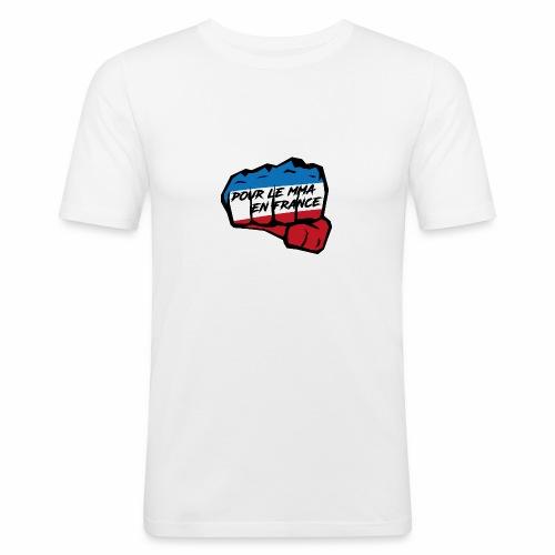 Fightness fist mma - T-shirt près du corps Homme
