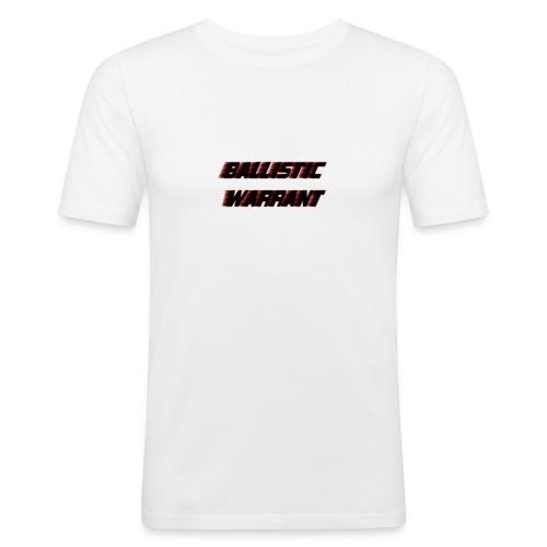 BallisticWarrrant - Mannen slim fit T-shirt