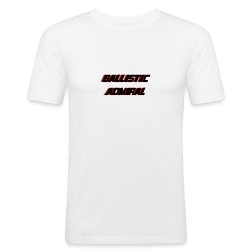 BallisticAdmiral - Mannen slim fit T-shirt