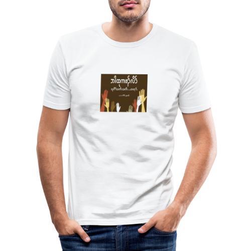 Praying - Men's Slim Fit T-Shirt