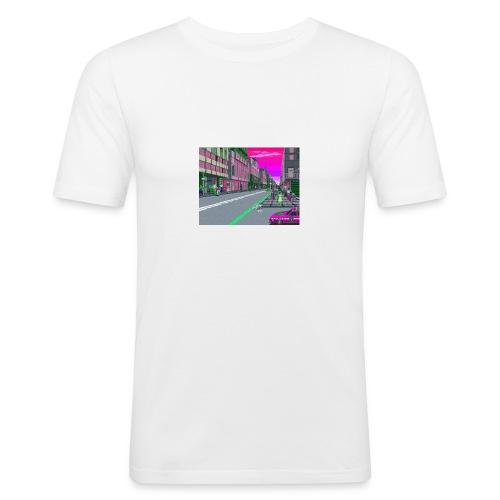 Game City 80's - Maglietta aderente da uomo