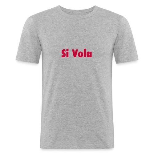 SiVola - Maglietta aderente da uomo