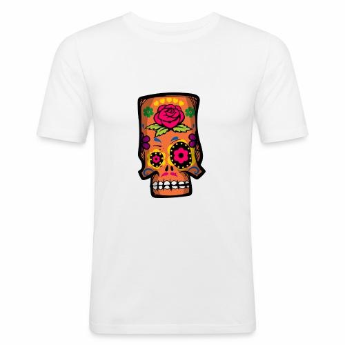 Calavera divertida - Camiseta ajustada hombre