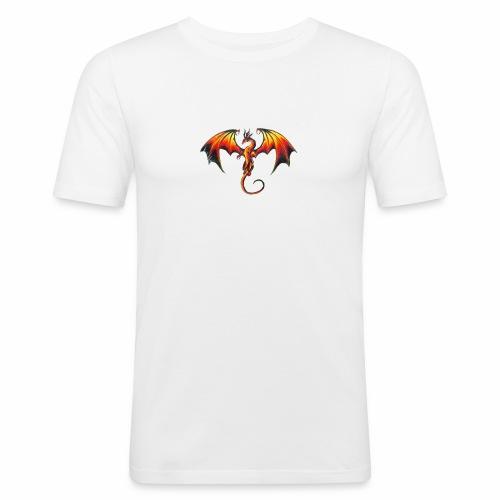 dark dragin logo! - Slim Fit T-shirt herr